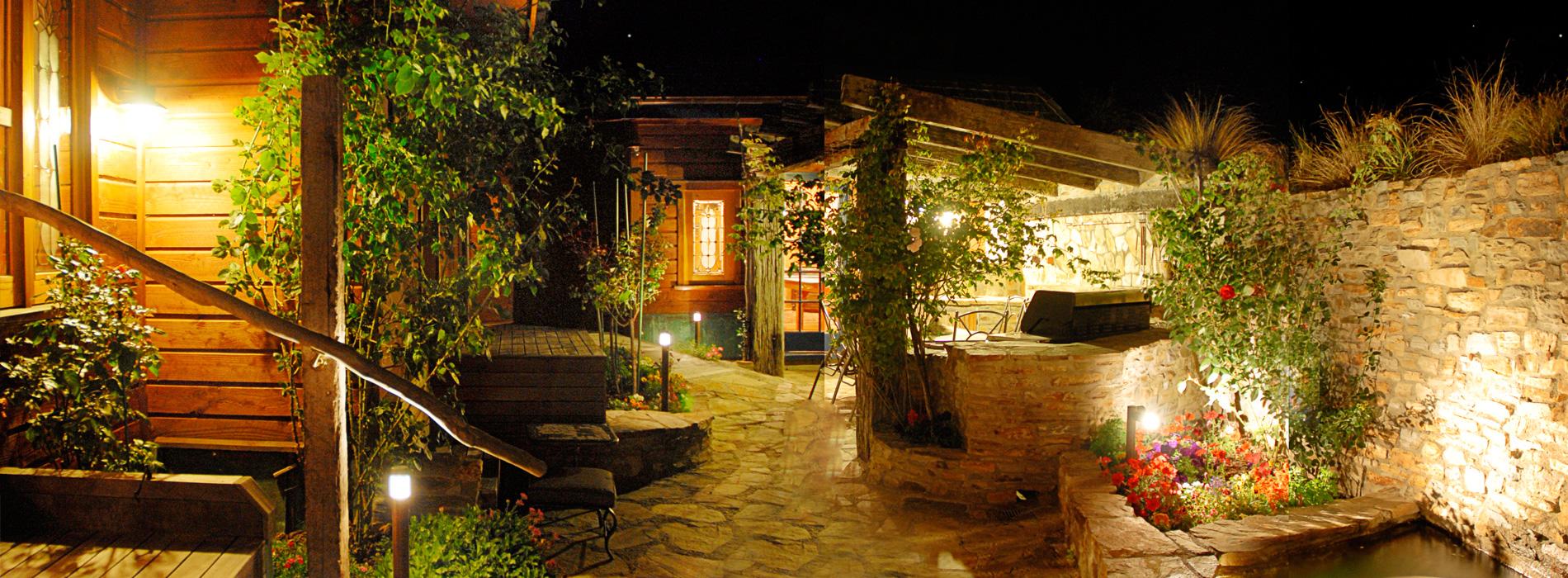 Lumipro focos para jardin iluminaci n de exterior - Iluminacion de exteriores y jardines ...